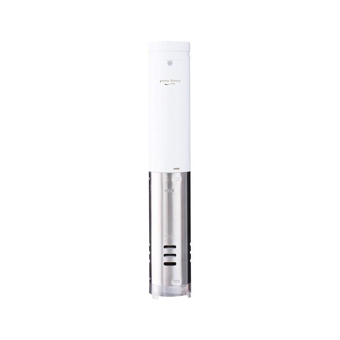 (低温調理器)グリーンハウス GH-SVMA-WH ホワイト/白(快適家電デジタルライフ)