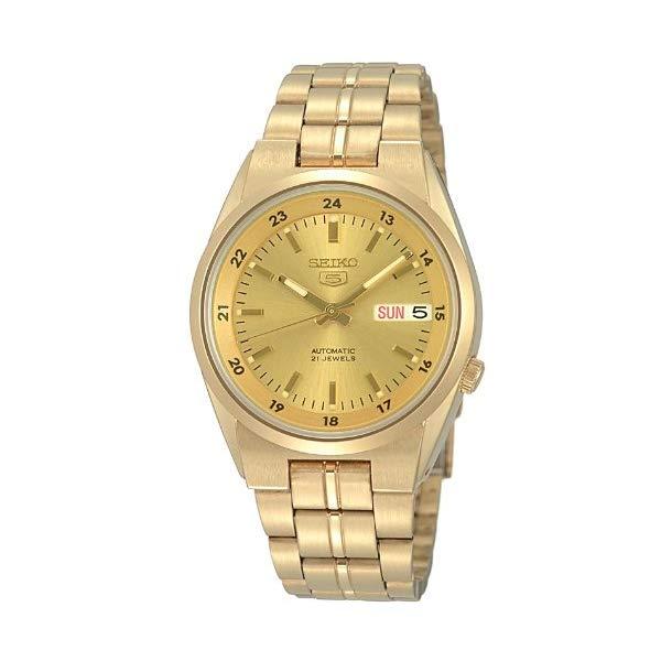【正規逆輸入品】 海外セイコー【腕時計】 SEIKO5 セイコー5 SNK574J1(SNK574JC) ゴールド 【代引き手数料・送料無料】【快適家電デジタルライフ】