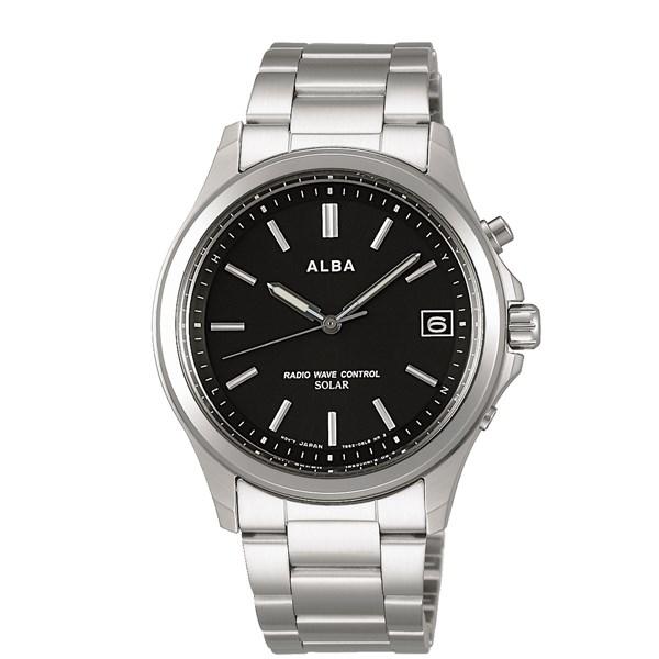 【国内正規品】 【腕時計】 AEFY502ALBA[アルバ ソーラー] 【ソーラー電波修正 メンズ】【快適家電デジタルライフ】