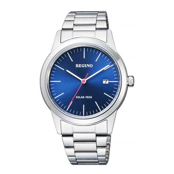 【国内正規品】[シチズン]CITIZEN 腕時計 KM3-116-71 [レグノ]REGUNO ブルー ソーラーテック シンプルシリーズ メンズ[KM311671]【快適家電デジタルライフ】