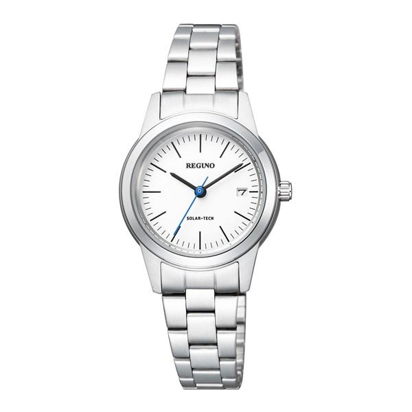 【国内正規品】[シチズン]CITIZEN 腕時計 KM4-015-11 [レグノ]REGUNO ホワイト ソーラーテック シンプルシリーズ レディース[KM401511]【快適家電デジタルライフ】