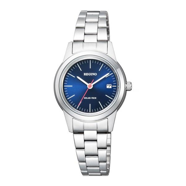 【国内正規品】[シチズン]CITIZEN 腕時計 KM4-015-71 [レグノ]REGUNO ブルー ソーラーテック シンプルシリーズ レディース[KM401571]【快適家電デジタルライフ】