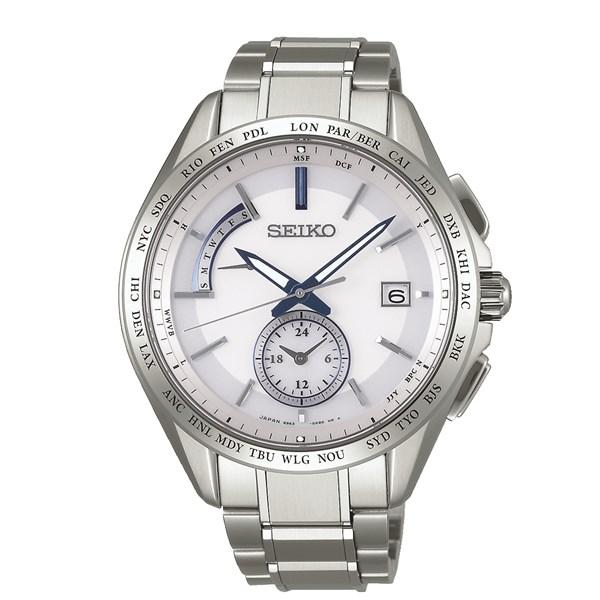 【国内正規品】[セイコー]SEIKO 腕時計 [ブライツ]BRIGHTZ SAGA229 メンズ【チタンバンド 多針アナログ ソーラー電波時計】【快適家電デジタルライフ】