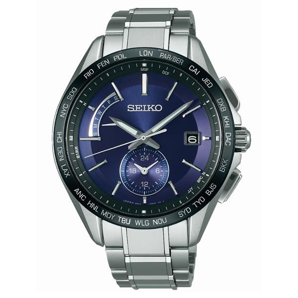 【国内正規品】[セイコー]SEIKO 腕時計 [ブライツ]BRIGHTZ SAGA231 メンズ【チタンバンド ソーラー電波時計 多針アナログ】【快適家電デジタルライフ】