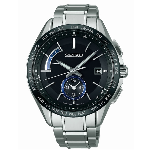 【国内正規品】[セイコー]SEIKO 腕時計 [ブライツ]BRIGHTZ SAGA235 メンズ【チタンバンド ソーラー電波時計 多針アナログ】【快適家電デジタルライフ】