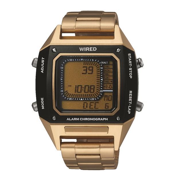 【国内正規品】[セイコー]SEIKO 腕時計 [ワイアード]WIRED AGAM402 メンズ【ステンレスバンド クオーツ デジタル表示】【快適家電デジタルライフ】