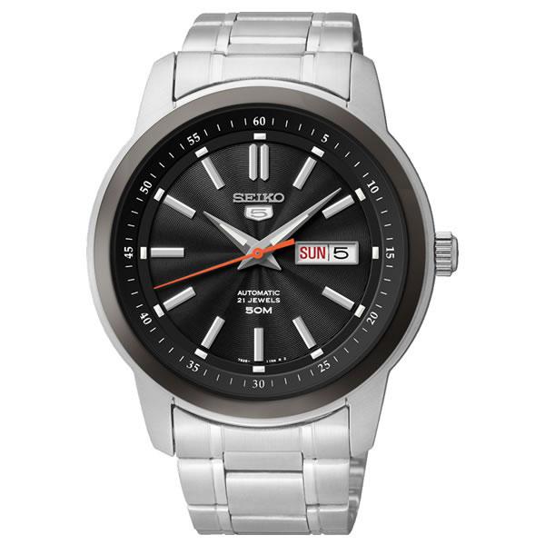 【正規逆輸入品】[海外セイコー]SEIKO 腕時計 SNKM89KC[SNKM89K1] 機械式 メンズ【ステンレスバンド 自動巻き アナログ表示】【快適家電デジタルライフ】