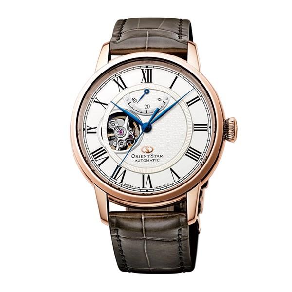 【国内正規品】[オリエント]ORIENT 腕時計 RK-HH0003S [オリエントスター]ORIENTSTAR セミスケルトン 機械式 メンズ【革バンド 多針アナログ表示 自動巻き】【快適家電デジタルライフ】