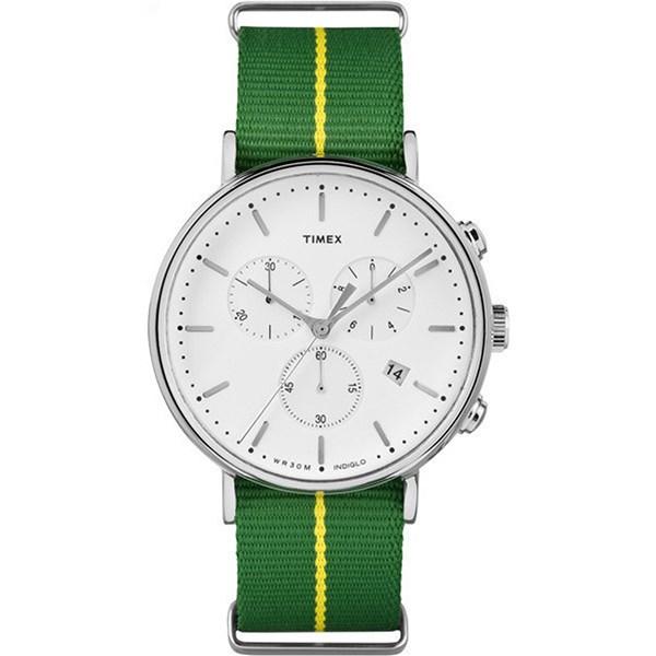【正規輸入品】[タイメックス]TIMEX ウィークエンダー フェアフィールド WEEKENDER FAIRFIELD 腕時計 メンズ TW2R26900 クロノグリーン【快適家電デジタルライフ】