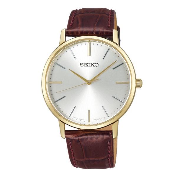 (国内正規品)(セイコー)SEIKO 腕時計 SCXP072 (セイコーセレクション)SEIKO SELECTION ゴールドフェザー メンズ【牛皮革(カーフ)バンド クオーツ アナログ表示】(快適家電デジタルライフ)