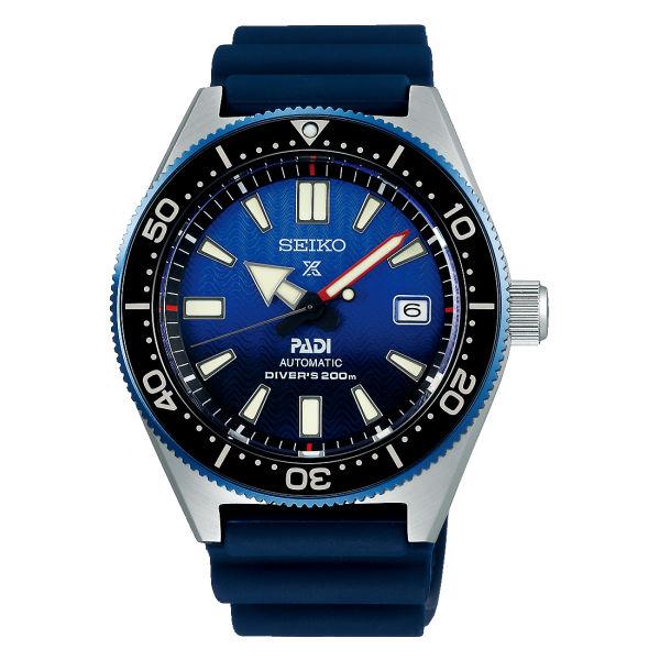 (国内正規品)(セイコー)SEIKO 腕時計 SBDC055 (プロスペックス)PROSPEX メンズ ダイバースキューバ PADI特別モデル(シリコンバンド 自動巻き アナログ表示)(快適家電デジタルライフ)