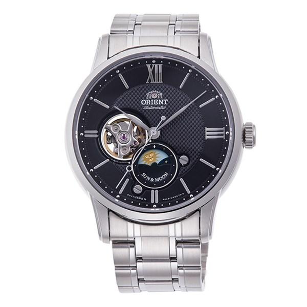 (国内正規品)(オリエント)ORIENT 腕時計 RN-AS0001B (クラシック)CLASSIC SUN&MOON表示 メンズ【ステンレスバンド 自動巻 多針アナログ表示】(快適家電デジタルライフ)