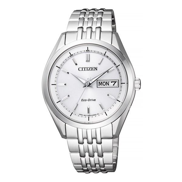 (セット)(国内正規品)(シチズン)CITIZEN 腕時計 AT6060-51A Cコレクション メンズ エコ・ドライブ電波時計&腕時計ケース1本用&クロス2枚セット【ステンレスバンド ソーラー電波時計 アナログ】(快適家電デジタルライフ)