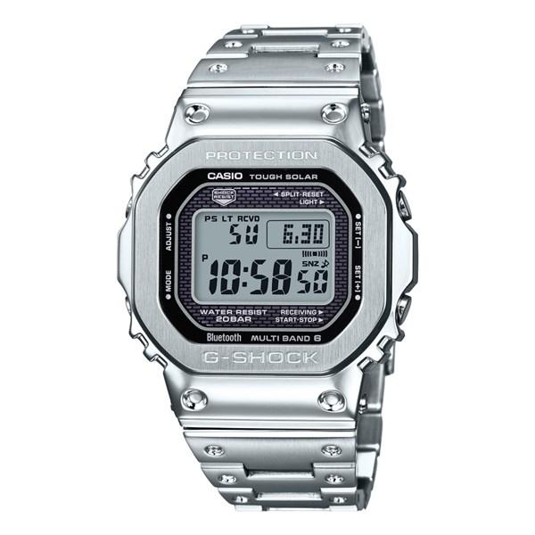【国内正規品】(カシオ)CASIO 腕時計 GMW-B5000D-1JF (ジーショック)G-SHOCK メンズ Bluetooth対応(ステンレスバンド 電波ソーラー デジタル)(快適家電デジタルライフ)