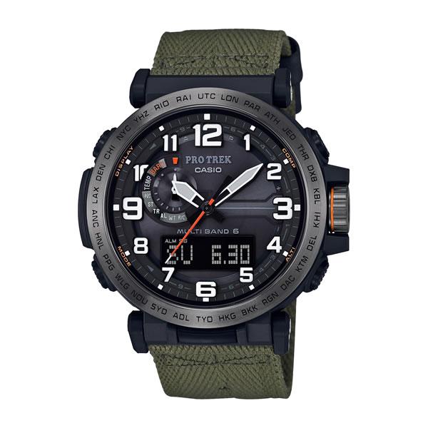 (国内正規品)(カシオ)CASIO 腕時計 PRW-6600YB-3JF (プロトレック)PROTREK メンズ(クロスバンド 電波ソーラー アナデジ)(快適家電デジタルライフ)