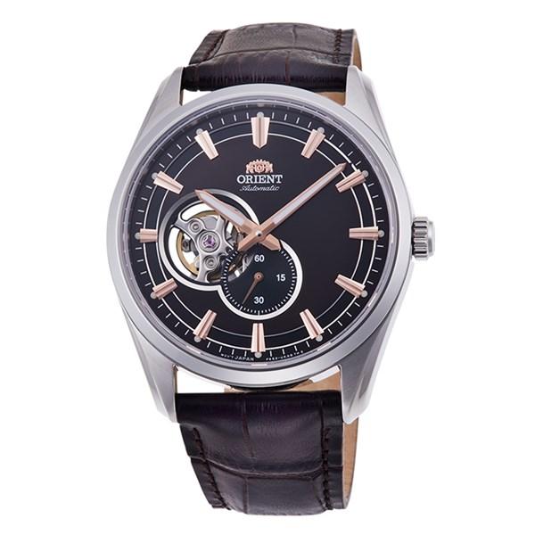 【国内正規品】(オリエント)ORIENT 腕時計 RN-AR0004Y (コンテンポラリー)CONTEMPORARY メンズ セミスケルトン(牛革バンド 自動巻き(手巻き付) 多針アナログ)(快適家電デジタルライフ)