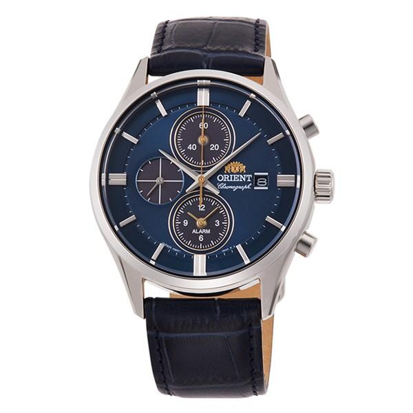【国内正規品】(オリエント)ORIENT 腕時計 RN-TY0004L (コンテンポラリー)CONTEMPORARY メンズ クロノグラフ(牛革バンド ソーラー 多針アナログ)(快適家電デジタルライフ)