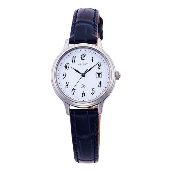 【国内正規品】(オリエント)ORIENT 腕時計 RN-WG0009S io(イオ) ナチュラル&プレーン レディース(牛革バンド ソーラー アナログ)(快適家電デジタルライフ)