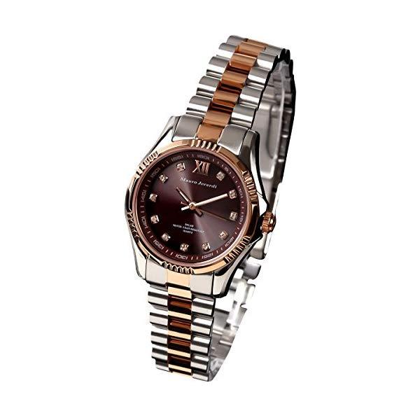 【正規輸入品】(マウロジェラルディ)Mauro Jerardi 腕時計 MJ038-1 レディース(ステンレスバンド ソーラー アナログ)(快適家電デジタルライフ)