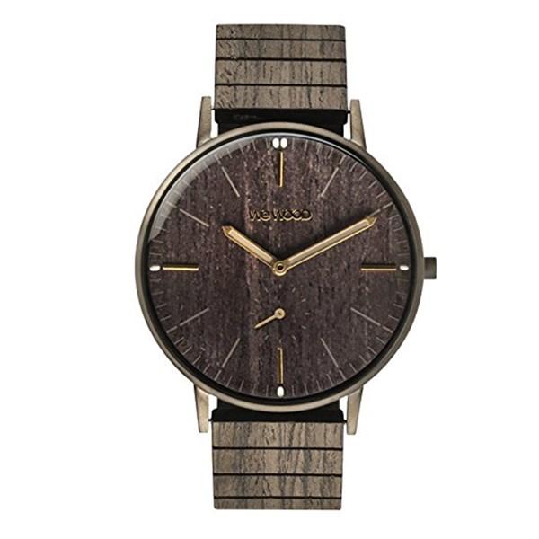 【正規輸入品】(ウィーウッド)WEWOOD 腕時計 9818169 ALBACORE GUM BK OAK メンズ 木製(木製バンド クオーツ アナログ)(快適家電デジタルライフ)