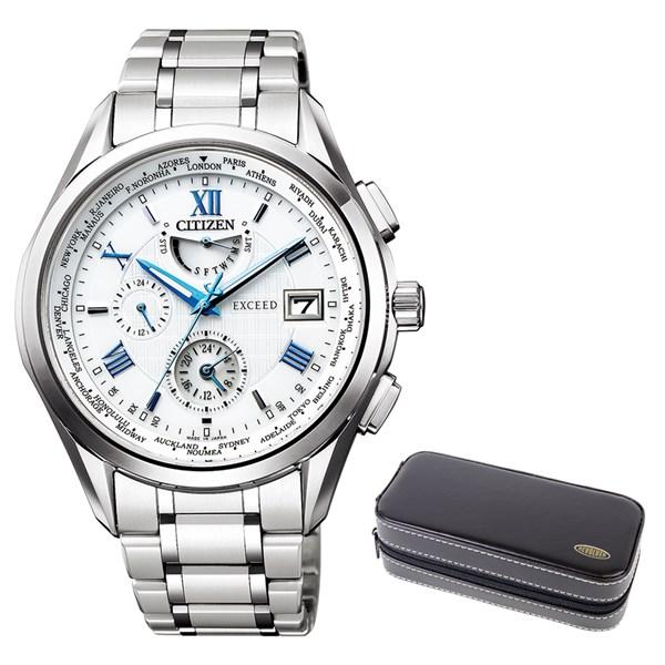 (時計ケースセット)(国内正規品)(シチズン)CITIZEN 腕時計 AT9110-58A (エクシード)EXCEED メンズ(チタンバンド 電波ソーラー 多針アナログ)(快適家電デジタルライフ)