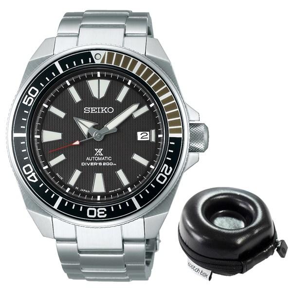 【セット】【国内正規品】(セイコー)SEIKO 腕時計 SBDY009 (プロスペックス)PROSPEX メンズ ダイバースキューバ&腕時計ケース1本用 丸型(ステンレスバンド 自動巻(手巻き付き) アナログ)(快適家電デジタルライフ)