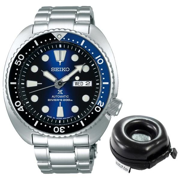 【セット】【国内正規品】(セイコー)SEIKO 腕時計 SBDY013 (プロスペックス)PROSPEX メンズ ダイバースキューバ&腕時計ケース1本用 丸型(ステンレスバンド 自動巻(手巻き付き) アナログ)(快適家電デジタルライフ)