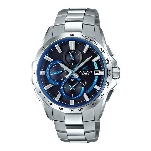 (国内正規品)(カシオ)CASIO 腕時計 OCW-S4000-1AJF (オシアナス)OCEANUS メンズ マンタ(チタンバンド 電波ソーラー 多針アナログ)(快適家電デジタルライフ)