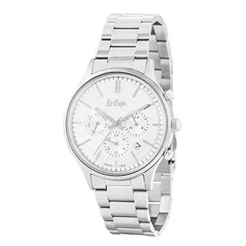 【正規輸入品】(リークーパー)Lee Cooper 腕時計 LC6295.330 ステンレススチール メンズ(ステンレスバンド クオーツ 多針アナログ)(快適家電デジタルライフ)