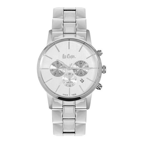 【正規輸入品】(リークーパー)Lee Cooper 腕時計 LC6343.330 ステンレススチール メンズ(ステンレスバンド クオーツ 多針アナログ)(快適家電デジタルライフ)
