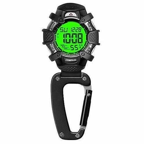 (正規品)DAKOTA(ダコタ) 8233-2 時計 クリップウォッチ デジタルコンパス ブラック アウトドア(快適家電デジタルライフ)