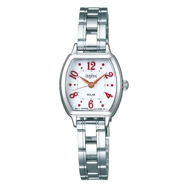 (時計ケースセット)(国内正規品)(セイコー)SEIKO 腕時計 AHJD106 (アルバ)ALBA ingenu レディース(ステンレスバンド ソーラー アナログ)(快適家電デジタルライフ)