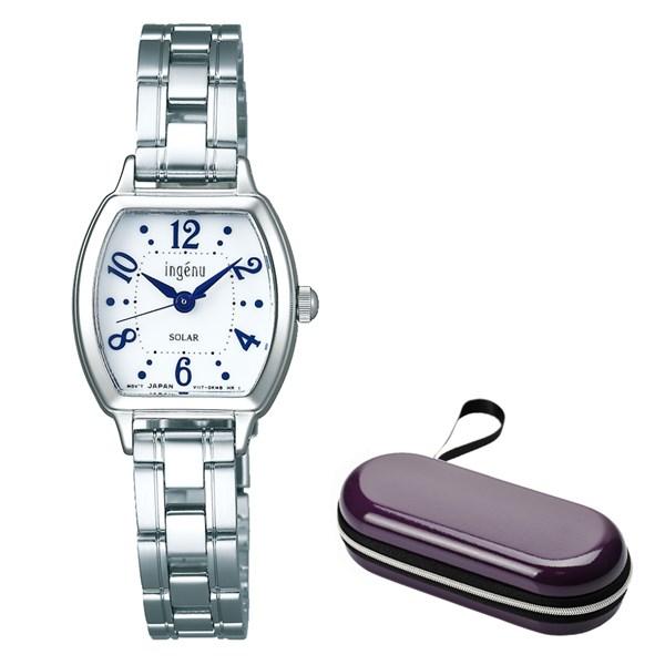(時計ケースセット)(国内正規品)(セイコー)SEIKO 腕時計 AHJD107 (アルバ)ALBA ingenu レディース(ステンレスバンド ソーラー アナログ)(快適家電デジタルライフ)