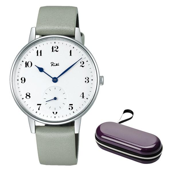 (時計ケースセット)(国内正規品)(セイコー)SEIKO 腕時計 AKPK431 (アルバ リキ クオーツ)ALBA Riki メンズ(牛革バンド クオーツ 多針アナログ)(快適家電デジタルライフ)