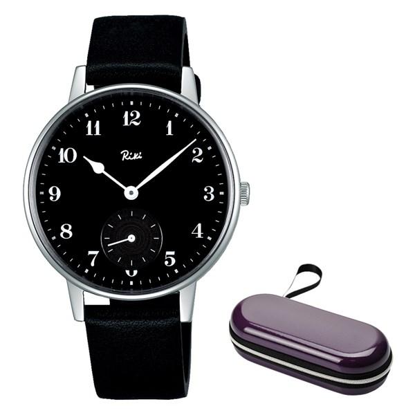 (時計ケースセット)(国内正規品)(セイコー)SEIKO 腕時計 AKPK432 (アルバ リキ クオーツ)ALBA Riki メンズ(牛革バンド クオーツ 多針アナログ)(快適家電デジタルライフ)
