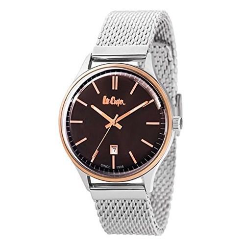 【ペア箱入りセット】【正規輸入品】(リークーパー)Lee Cooper 腕時計 LC6291.540 メンズ・LC6301.480 レディース&クロス2枚(ステンレスバンド クオーツ アナログ ペアウォッチ)(快適家電デジタルライフ)
