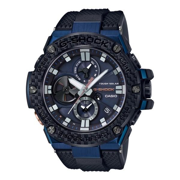 (国内正規品)(カシオ)CASIO 腕時計 GST-B100XB-2AJF (ジーショック)G-SHOCK メンズ G-STEEL Bluetooth搭載(樹脂バンド ソーラー 多針アナログ)(快適家電デジタルライフ)