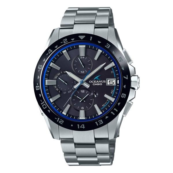 (10月新商品)(国内正規品)(カシオ)CASIO 腕時計 OCW-T3000A-1AJF (オシアナス)OCEANUS メンズ クラシックライン Bluetooth搭載(チタンバンド 電波ソーラー 多針アナログ)(快適家電デジタルライフ)