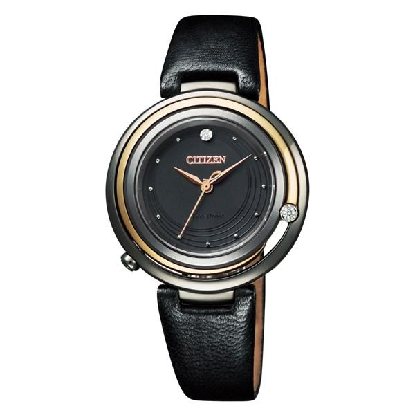 (国内正規品)(シチズン)CITIZEN 腕時計 EM0659-25E L(エル) レディース 100周年記念限定モデル(エゾ鹿革バンド ソーラー アナログ)(快適家電デジタルライフ)