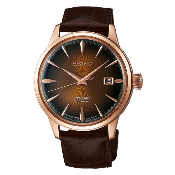 (国内正規品)(セイコー)SEIKO 腕時計 SARY128 (プレザージュ)PRESAGE メンズ ベーシックライン(牛革バンド 自動巻き(手巻付) アナログ)(快適家電デジタルライフ)