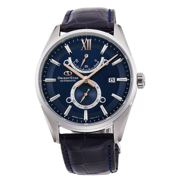 (国内正規品)(オリエントスター)ORIENTSTAR 腕時計 RK-HK0004L コンテンポラリー メンズ スリムデイト 限定モデル(ワニ革バンド 自動巻き(手巻付) 多針アナログ)(快適家電デジタルライフ)