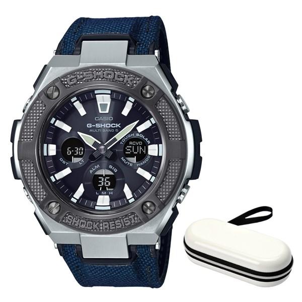 (時計ケースセット)(国内正規品)(カシオ)CASIO 腕時計 GST-W330AC-2AJF (ジーショック)G-SHOCK メンズ G-STEEL(合皮/クロスバンド 電波ソーラー アナデジ)(快適家電デジタルライフ)