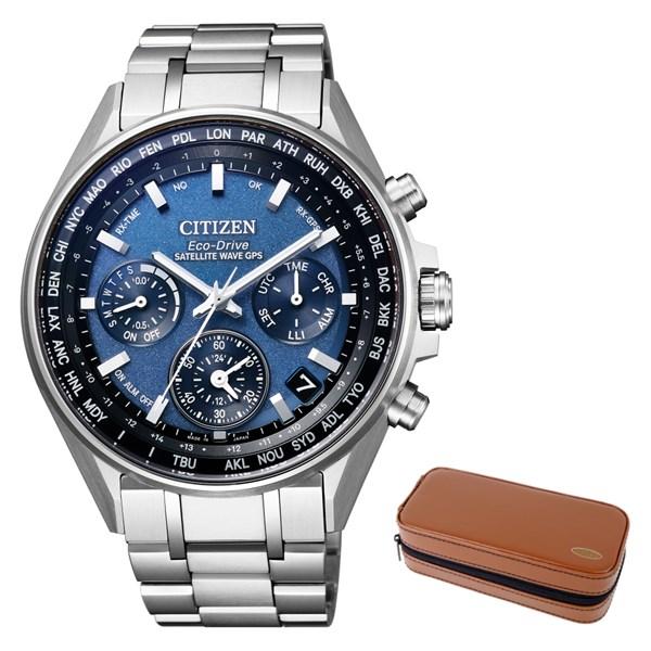 (時計ケースセット)(国内正規品)(シチズン)CITIZEN 腕時計 CC4000-59L (アテッサ)ATTESA メンズ エコドライブ GPS衛星電波時計(チタンバンド GPS電波ソーラー 多針アナログ)(快適家電デジタルライフ)