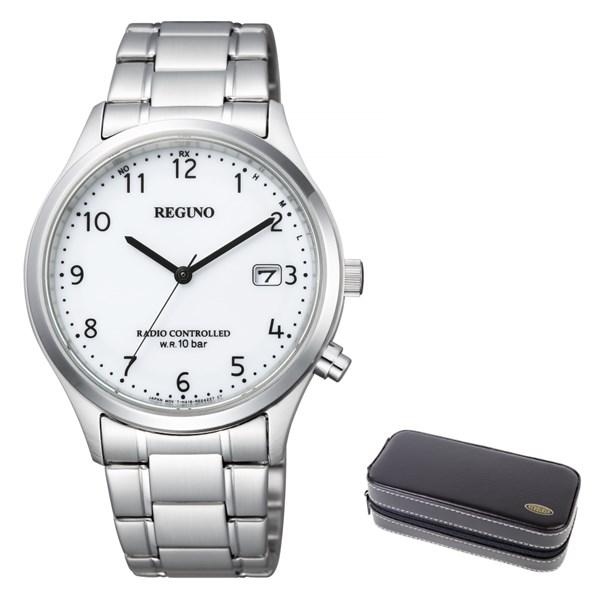 (時計ケースセット)(国内正規品)(シチズン)CITIZEN 腕時計 KL8-911-11 (レグノ)REGUNO メンズ(ステンレスバンド 電波ソーラー アナログ)(快適家電デジタルライフ)
