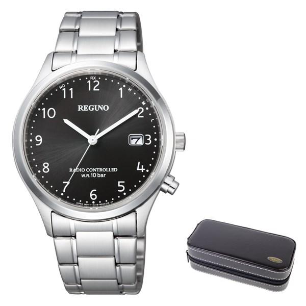 (時計ケースセット)(国内正規品)(シチズン)CITIZEN 腕時計 KL8-911-51 (レグノ)REGUNO メンズ(ステンレスバンド 電波ソーラー アナログ)(快適家電デジタルライフ)