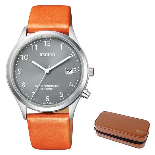 (時計ケースセット)(国内正規品)(シチズン)CITIZEN 腕時計 KL8-911-60 (レグノ)REGUNO メンズ(牛革バンド 電波ソーラー アナログ)(快適家電デジタルライフ)