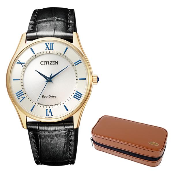 (時計ケースセット)(国内正規品)(シチズン)CITIZEN 腕時計 BJ6482-12P Cコレクション メンズ ペアモデル ウィンター 限定(牛革バンド ソーラー アナログ)(快適家電デジタルライフ)