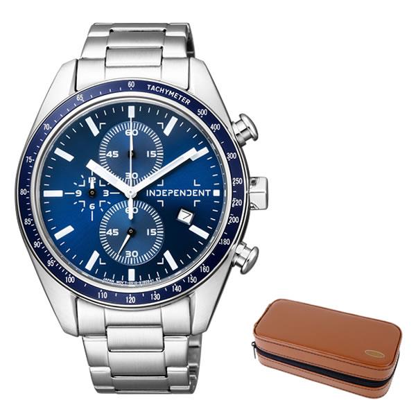 (時計ケースセット)(国内正規品)(シチズン)CITIZEN 腕時計 BA7-115-71 (インディペンデント)INDEPENDENT メンズ(ステンレスバンド 自動巻き アナログ)(無料バンド調整可)(快適家電デジタルライフ)