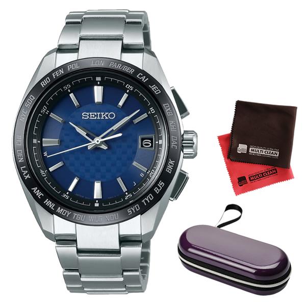 (10月新商品)(10月26日発売予定)(時計ケース・クロスセット)(国内正規品)(セイコー)SEIKO 腕時計 SAGZ089 (ブライツ)BRIGHTZ メンズ(チタンバンド 電波ソーラー アナログ)(快適家電デジタルライフ)