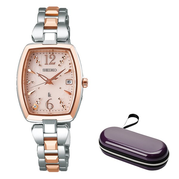 (10月新商品)(時計ケースセット)(国内正規品)(セイコー)SEIKO 腕時計 SSVW126 (ルキア)LUKIA レディース(ステンレスバンド 電波ソーラー アナログ)(快適家電デジタルライフ)